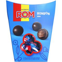 Praline de ciocolata amaruie cu rom 130g