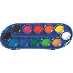 Acuarele tip pastila 12 culori