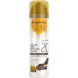 Lotiune spray pentru protectie solara cu SPF 20 150ml