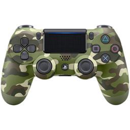 Controller Sony Dualshock 4 V2 Green Camouflage pentru PlayStation 4