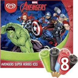 Inghetata Avengers 8x60ml