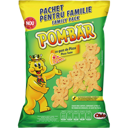 Snack cu gust de pizza Family 65g