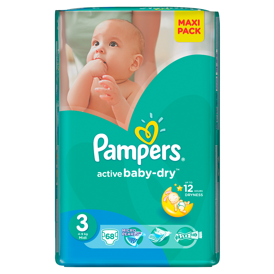 Pampers-Active baby-dry