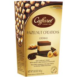 Praline ciocolata lapte Gianduja cu crema alune de padure 165g