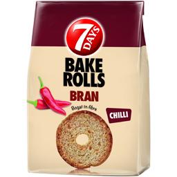 Rondele de paine crocanta cu tarate si chilli 80g