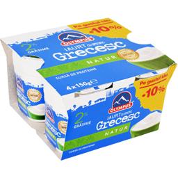 Pachet iaurt grecesc 2% grasime 4x150g