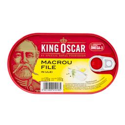 Macrou file in ulei vegetal 170g