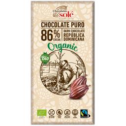 Ciocolata neagra bio 86% cacao 100g