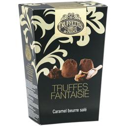 Trufe de ciocolata cu bucati de caramel si unt sarat 200g