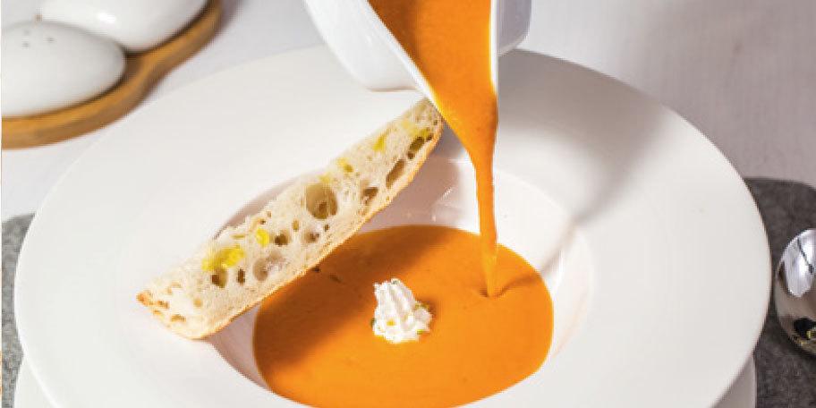 Supa de rosii la cuptor