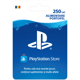Card Sony PlayStation Store 250 lei