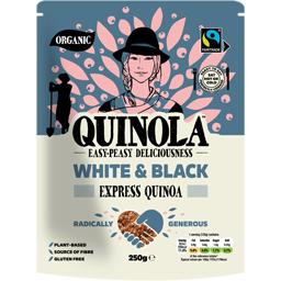 Quinoa bio express alba si neagra 250g