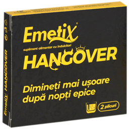 Supliment alimentar Emetix Hangover