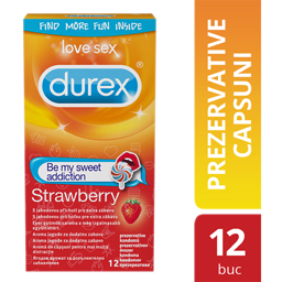 Prezervative Strawberry