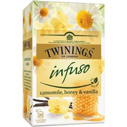 Ceai de musetel, miere si vanilie 20x1.5g