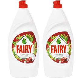 Detergent lichid de vase cu parfum de rodie 2x875ml