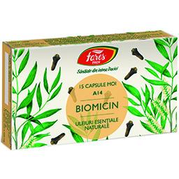 Biomicin (Antibiotic natural), A14, 15 capsule moi
