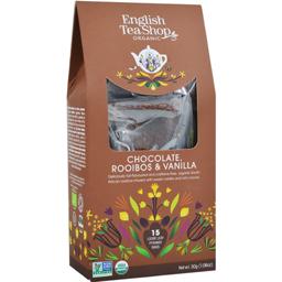 Ceai cu ciocolata, rooibos si vanilie eco 30g