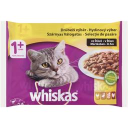 Hrana umeda pentru pisici, selectie pasare 4x100g
