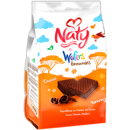 Napolitane Brownies cu crema de cacao 180g