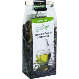 Ceai verde cu goji si crizanteme 50g