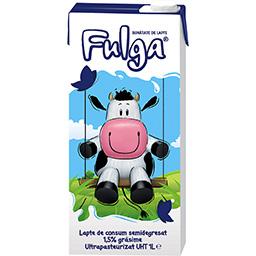 Lapte semidegresat UHT 1.5% grasime 1L