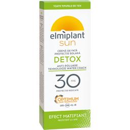 Crema de fata cu protectie solara Detox SPF 30 50ml