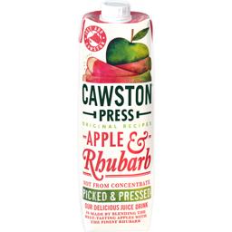 Suc natural de mere si rubarba 1L