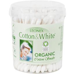 Betisoare de urechi igienice din bumbac organic 100 bucati