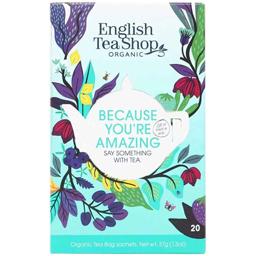 Ceai bio Because You're Amazing, 20 plicuri 37g