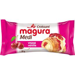Croissant cu umplutura de visine si vanilie  80g