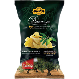 Chips din cartofi cu ulei de masline extra virgin 100% 160g