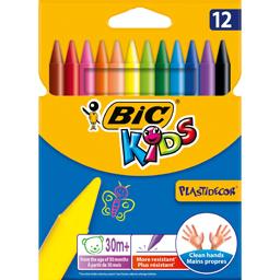 Creioane colorate cerate, 12 culori