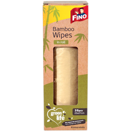 Lavete in rola din bambus