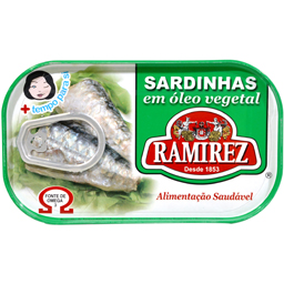 Sardine in ulei vegetal 125g