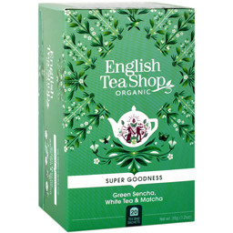 Ceai verde Sencha, ceai alb si Matcha eco 20x1.75g
