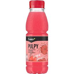 Bautura racoritoare necarbogazoasa cu suc de grepfrut roz 330ml