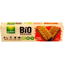Biscuiti bio cu 4 cereale, fara lactoza 170g