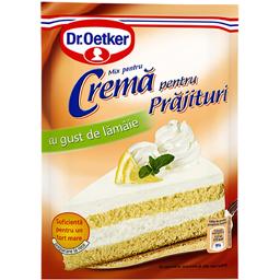 Crema pentru prajituri cu gust de lamaie 50g