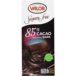 Ciocolata neagra 85% cacao fara zahar 100g