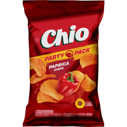 Chips din cartofi cu gust de ardei gras rosu 200g