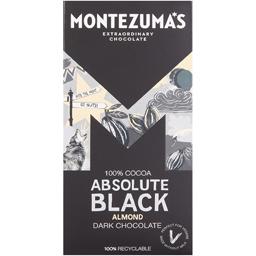 Ciocolata neagra cu migdale, 100% cacao 90g