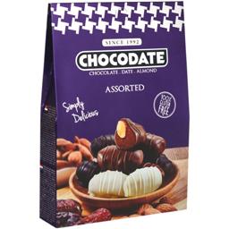 Curmale glazurate in ciocolata asortata 80g