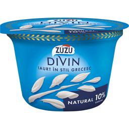 Iaurt natural in stil grecesc 10% grasime 150g