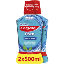 Apa de gura Cool Mint 2x500ml