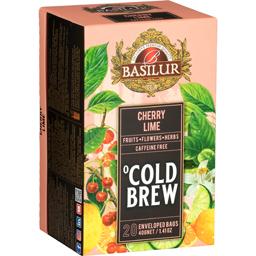 Ceai Cold Brew Cherry Lime, fara cafeina 2x20g