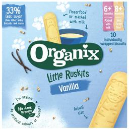 Biscuiti ecologici pentru sugari 6+ luni  60g