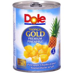Ananas bucati in suc propriu 567g