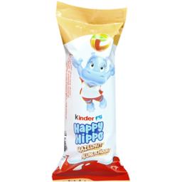 Napolitana cu umplutura de lapte si alune de padure Happy Hippo 20.7g