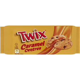 Biscuiti cu bucati de ciocolata si crema de caramel 144g